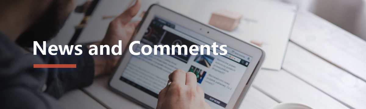 News and Comments